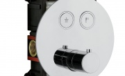 ON-OFF di OMBG.  Il comfort della miscelazione termostatica in un pulsante