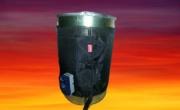 Fasce scaldanti per fusti metallici da 200 Lt , potenza 1200 W  temperatura 0°/150°
