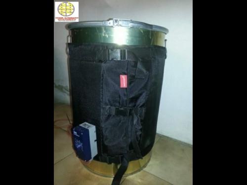 Fascia scaldante elettrica per fusto metallico da 200 Lt