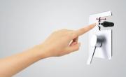 Neoperl® Easy Push Diverter. I deviatori funzionali e intelligenti