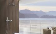 Miscelatore termostatico a incasso per doccia by OMBG. Essenzialità ed efficienza