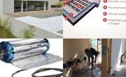 Riscaldamento elettrico per pavimenti a secco