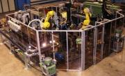 Cella Robotizzata per Montaggio Pompe Acqua